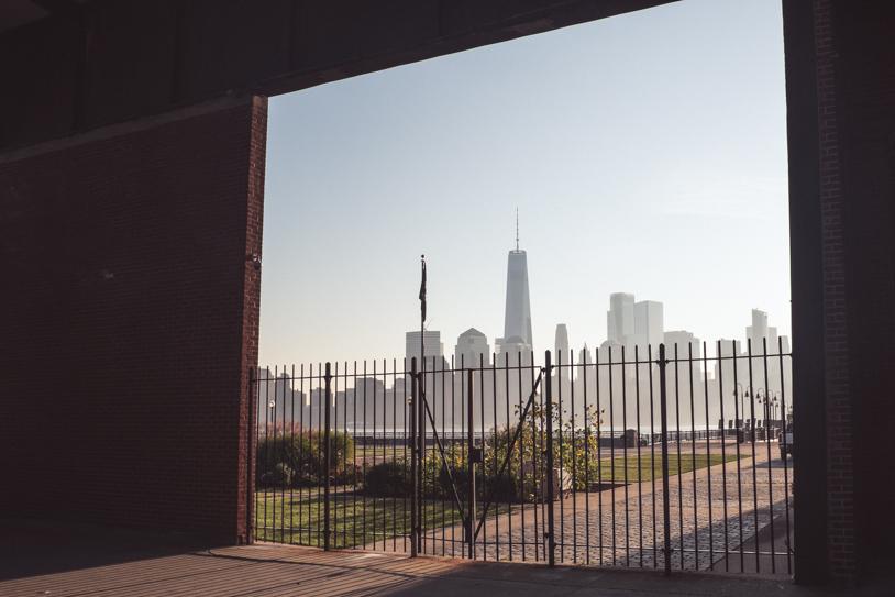 Wie komme ich vom Liberty Cruise Port Bayonne nach New York/Manhattan?