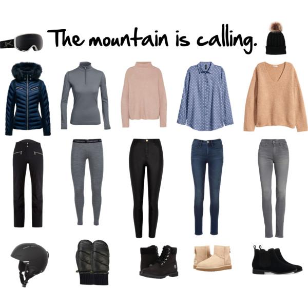 Packliste für einen kurzen Skiurlaub