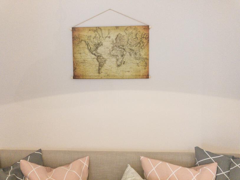 Die ganze Welt für zu Hause