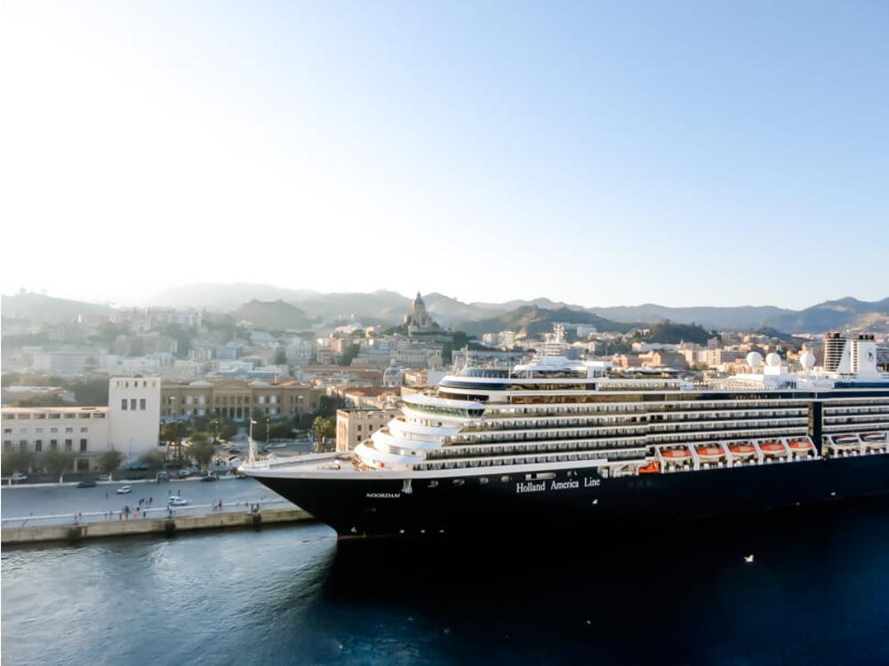 Hinter den Kulissen eines Kreuzfahrtschiffs