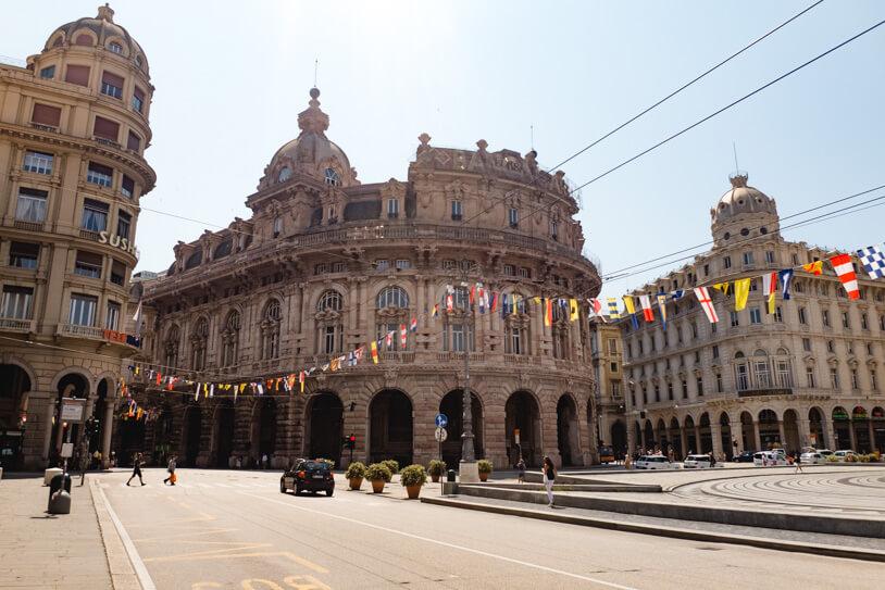 Hafenstadt Genua